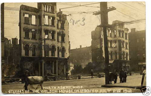 North Adams Ruins Wilson House 1912
